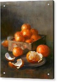 Clementines Acrylic Print