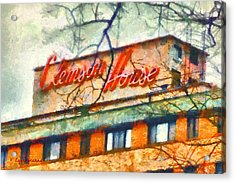 Clemson House Acrylic Print by Lynne Jenkins