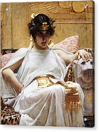 Cleopatra, C.1887 Oil On Canvas Acrylic Print