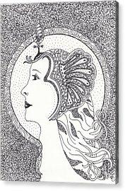 Cleopatra  Acrylic Print by Tamyra Crossley