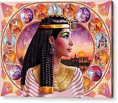Cleopatra Variant 3 Acrylic Print by Andrew Farley