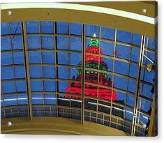 Cleveland Christmas Tower Acrylic Print