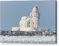 Cleveland Harbor West Pierhead Light Acrylic Print
