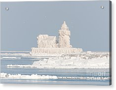 Cleveland Harbor West Pierhead Light II Acrylic Print