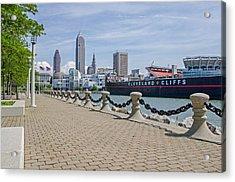 Cleveland Lake Front Acrylic Print