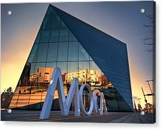 Acrylic Print featuring the photograph Cleveland Museum Of Modern Art by Brent Durken