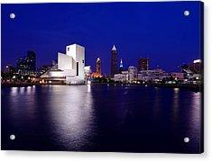 Cleveland North Shore Acrylic Print