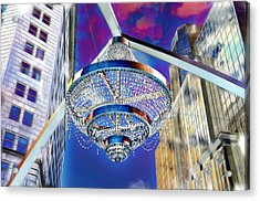 Cleveland Playhouse Square Outdoor Chandelier - 1 Acrylic Print