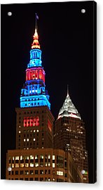 Cleveland Towers Acrylic Print by Dale Kincaid