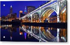 Cleveland Ultra-rez Panoramic Acrylic Print