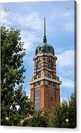 Cleveland West Side Market Tower Acrylic Print by Dale Kincaid