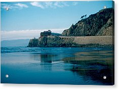Cliff House 1956 Acrylic Print by Cumberland Warden
