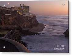Acrylic Print featuring the photograph Cliff House Sunset by Kate Brown