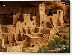 Cliff Palace Acrylic Print by Marty Fancy