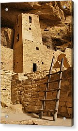 Cliff Palace Tower At Mesa Verde Nhs Acrylic Print
