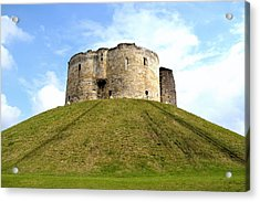 Acrylic Print featuring the photograph Clifford's Tower York by Scott Lyons