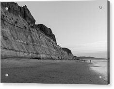 Acrylic Print featuring the photograph Cliffs At Torrey Pines Beach by Scott Rackers