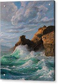 Cliffs End Acrylic Print