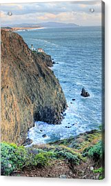 Cliffs Acrylic Print by JC Findley