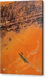 Cliffs Of Mars Acrylic Print by Fran Riley