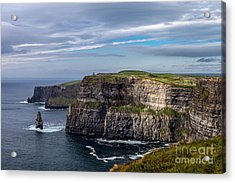 Acrylic Print featuring the photograph Cliffs Of Moher I by Juergen Klust