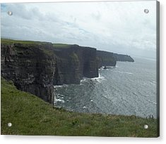 Cliffs Of Moher II Acrylic Print by James Potts
