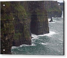 Acrylic Print featuring the photograph Cliffs Of Moher Ireland by Alan Lakin