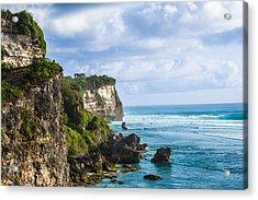 Cliffs On The Indonesian Coastline Acrylic Print