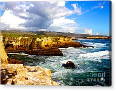 Cliffs Acrylic Print by Shannan Peters