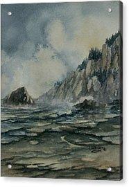 Cliffside Acrylic Print
