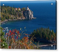 Cliffside Scenic Vista Acrylic Print by James Peterson