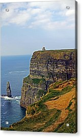 Cliffside Steeple Acrylic Print