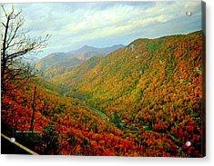 Climb Though Mountains Acrylic Print