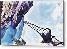Climb Acrylic Print