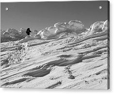 Climbing Mount Pierce Acrylic Print