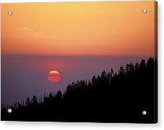 Clingman's Dome Sunset 02 Acrylic Print