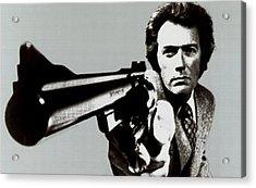 Clint Eastwood Big Gun 2 Acrylic Print
