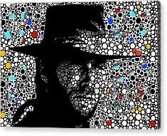 Clint Eastwood Cowboy Art Acrylic Print