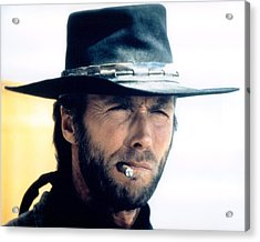 Clint Eastwood In High Plains Drifter  Acrylic Print