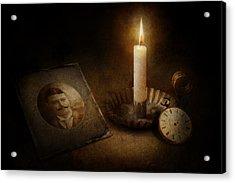 Clock - Memories Eternal Acrylic Print