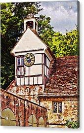 Clock Tower - Lacock Abbey Acrylic Print