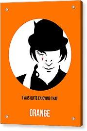 Clockwork Orange Poster 2 Acrylic Print by Naxart Studio