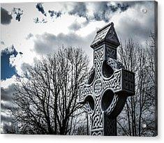 Clondegad Celtic Cross Acrylic Print