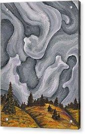 Close Down Acrylic Print by Logan Hoyt Davis