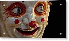 Close-up Of A Clown At A Shop, El Acrylic Print