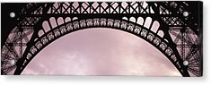 Close Up Of Eiffel Tower, Paris, France Acrylic Print by Panoramic Images