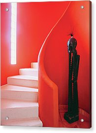 Close-up Of Staircase Acrylic Print