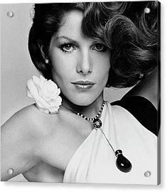 Close Up Portrait Of Lois Chiles Acrylic Print