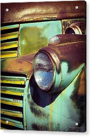 Close View Of A Fading Beauty Acrylic Print