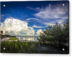 Close Your Eyes And See Acrylic Print